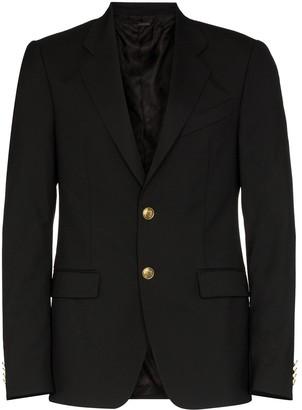 Givenchy Single-Breasted Blazer Jacket