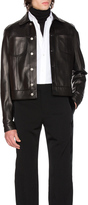Maison Margiela Lamb Leather Trucker Jacket