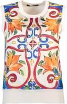 Dolce & Gabbana Maiolica Knit Tank