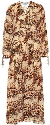 Nanushka Hazel printed cotton maxi dress