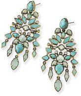 Kendra Scott Aryssa Statement Earrings in Turquoise Zellige