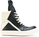 Rick Owens high-top sneakers - men - Calf Leather/Leather/rubber - 39.5