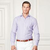 Ralph Lauren Purple Label Houndstooth Cotton Sport Shirt