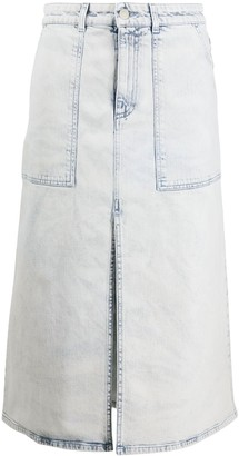 Stella McCartney High Waist Denim Skirt
