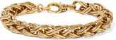 Elizabeth Cole Harris gold-plated bracelet