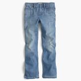 J.Crew PetiteBillie demi-boot crop jean in Sherman wash