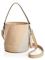 Meli-Melo Santina Color Block Mini Leather Bucket Bag