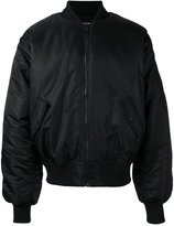 Hood by Air satin bomber jacket - men - Nylon/Polyester/Cupro - M
