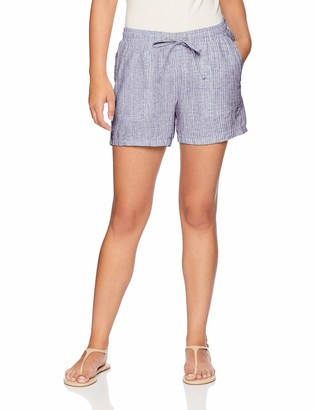 "Amazon Essentials Women's 5"" Drawstring Linen Short"