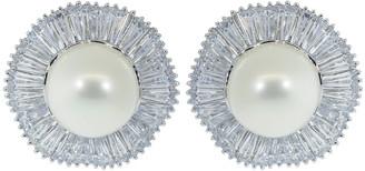 FANTASIA Pearl Center Stud Earrings