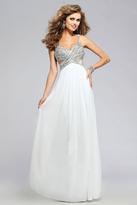 Faviana Pretty Sweetheart Chiffon Dress 7710