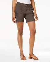 Style&Co. Style & Co Style & Co Petite Zig-Zag Cargo Shorts, Created for Macy's
