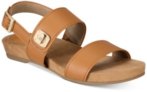 Giani Bernini Ramonaa Memory Foam Footbed Sandals, Created for Macy's Women's Shoes
