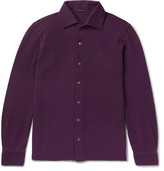 Rubinacci - Slim-fit Cotton-piqué Polo Shirt