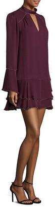 Parker Tessa Silk Choker Dress