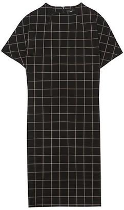 Theory Dolman Grid Shift Dress