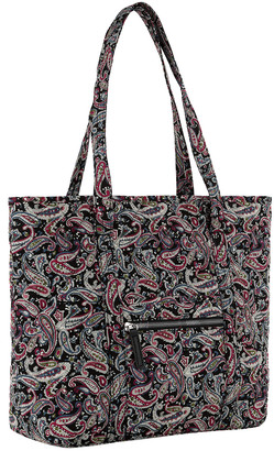 Mkf Collection By Mia K. MKF Collection by Mia K. Women's Totebags Black/Persimmon - Black & Persimmon Paisley Quilted Tote