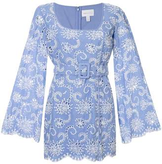 Alice McCall Cloud Obscurity embroidered mini dress