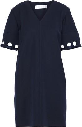 Victoria Victoria Beckham Cutout Wool-twill Mini Dress