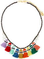 Rada' Radà tassel beaded necklace