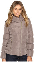 Kenneth Cole New York Quilted Coat with Asymmetrical Zip