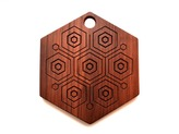 Walnut Hex Reversible Trivet/Cutting/Serving Board
