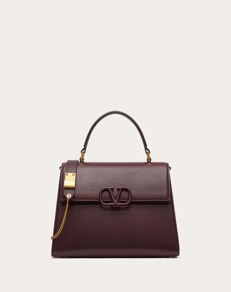 Valentino Vsling Grainy Calfskin Handbag Women Black 100% Pelle Di Vitello - Bos Taurus OneSize