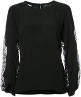 Barbara Bui sheer panel blouse
