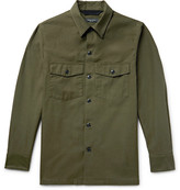 Rag & Bone Heath Slub Cotton Shirt Jacket