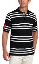 U.S. Polo Assn. Men's Yarn-Dyed Striped Polo Shirt