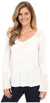 Stetson Poly Knit Peasant Long Sleeve Knit