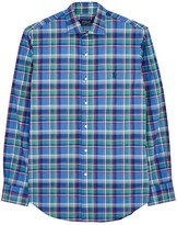 Polo Ralph Lauren Checked Custom Poplin Shirt