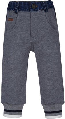Lapin House Denim Panelled Track Trousers