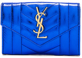Saint Laurent Small Monogramme Quilted Wallet