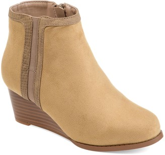 Journee Collection Padme Women's Wedge Ankle Boots