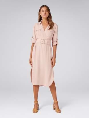 Ever New Imogen Petite Safari Shirt Dress