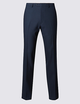 Limited Edition Navy Modern Slim Fit Trousers