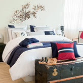Tommy Hilfiger White Couture Trim Duvet Cover - Super King