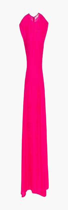 Victoria Beckham Textured Cloque Midi Dress