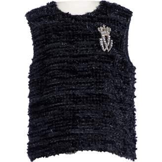 Vera Wang Black Synthetic Tops