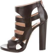 Ruthie Davis Leather Cutout Sandals w/ Tags