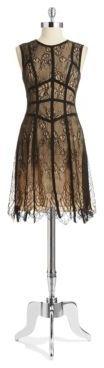 ABS by Allen Schwartz Sleeveless Lace Dress