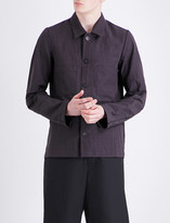 A Diciannoveventitre 1923 Worker cotton and linen-blend shirt