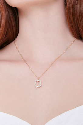 Forever 21 Initial Pendant Necklace