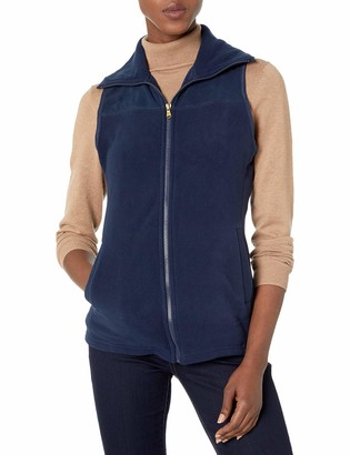 Chaps Women's Sleeveless New Faux Sherpa-Knit Vest