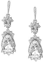 Givenchy Saville Faux-Crystal Drop Earrings