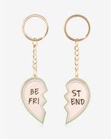 Express ok originals set of two best friend keychains
