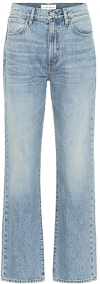 SLVRLAKE London high-rise straight jeans
