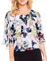 Vince Camuto Garden Batwing Blouse