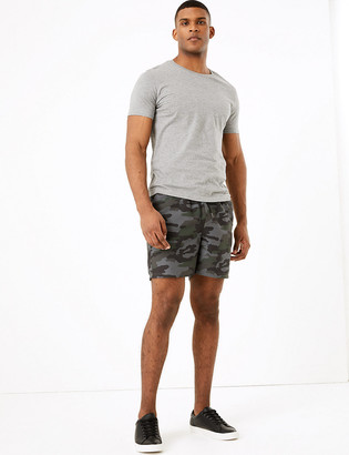 Marks and Spencer Quick Dry Camouflage Print Swim Shorts